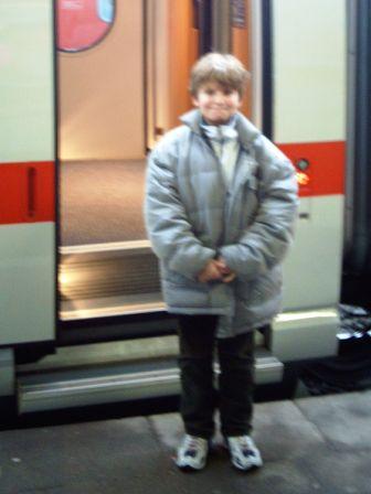 22.12.2005 - Timo kommt erstmals nach Inobhutnahme nach Hause