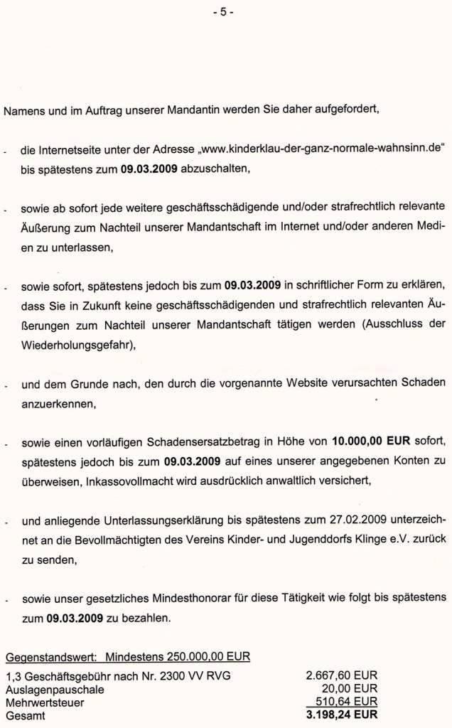Seite 5 Rechtsanwalt Carsten Engelhardt Mosbach