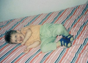 Timo drei Jahre alt