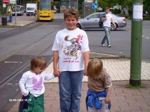 Timo zu Besuch in Essen