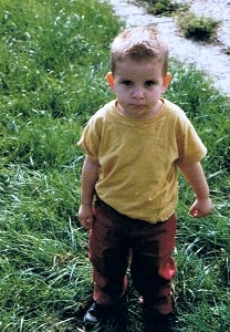 Timo zwei Jahre alt