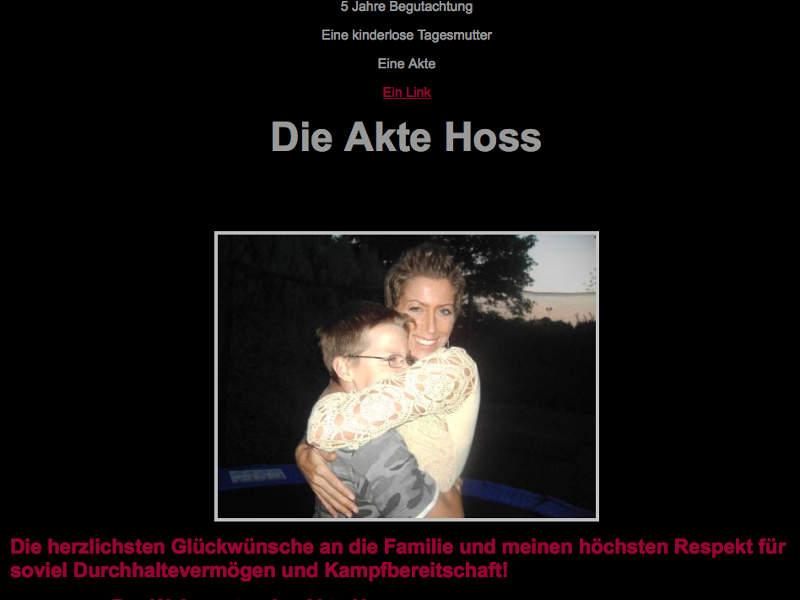 Einer der Jugendamtsskandale Die Akte Hoss